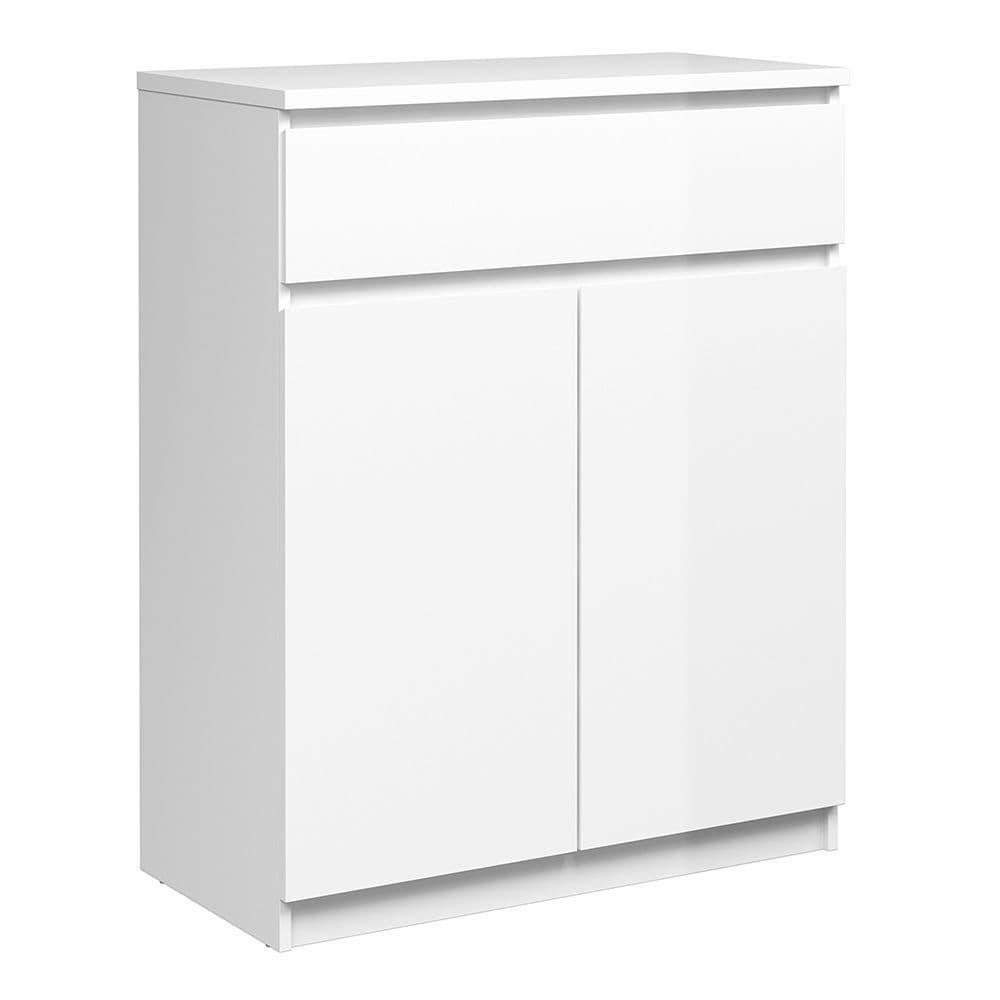 Enzo Sideboard - 1 Drawer 2 Doors in White High Gloss